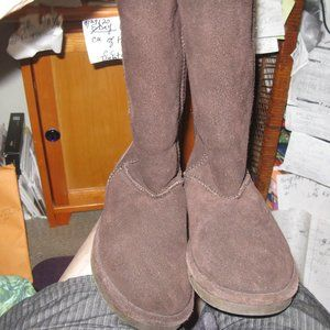 BEAR PAW REAL SUEDE WINTER USED LIGHTLY WINTERBOOT